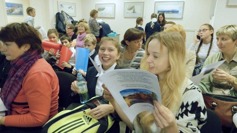 В конкурсе приняли участие порядка тридцати юных исследователей