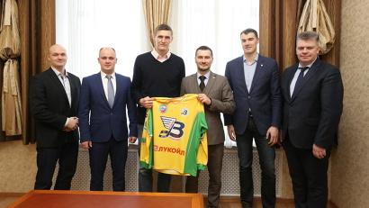 В Архангельск прилетел один из самых титулованных российских баскетболистов  Андрей Геннадьевич Кириленко