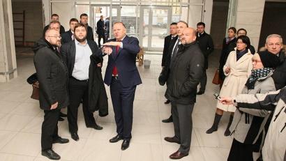 Николай Цуканов отметил, что с момента последнего визита в Архангельск в декабре 2016 года на объекте произошли видимые перемены