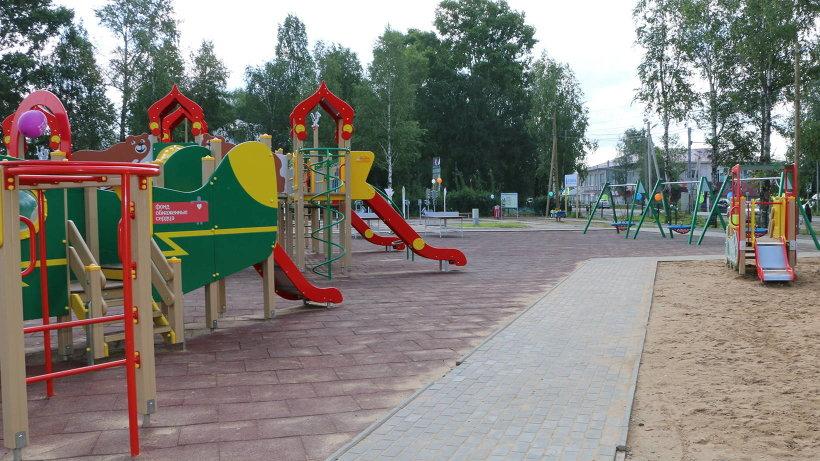 Новые объекты возведены в рамках губернаторского проекта по строительству плоскостных спортивных сооружений. Фото Александра Ермолина