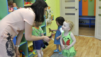 Только за 2017 год в Архангельской области четыре частных детских сада получили лицензию на ведение образовательной деятельности