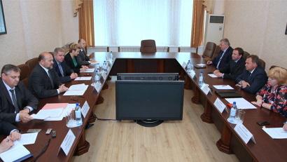 Встреча прошла в правительстве Архангельской области