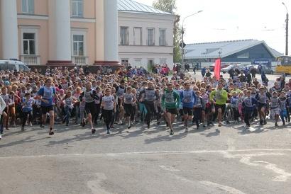 Самый массовый забег всероссийского кросса 2014 года - школьники 1995 года и младше...