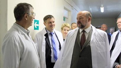 Глава региона - в Устьянской районной больнице
