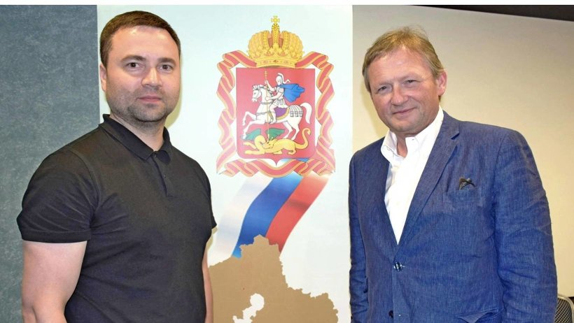 Региональный уполномоченный по защите прав предпринимателей Иван Кулявцев и Борис Титов