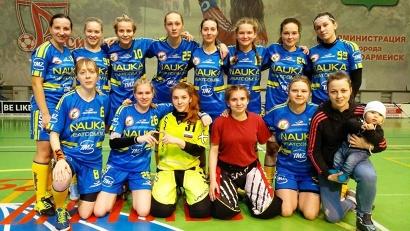 Команда «Наука-САФУ» – действующий чемпион России по флорболу