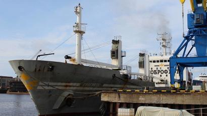 Три тысячи тонн свежемороженой горбуши, нерки, кеты и гольца доставил в Архангельск транспорт «Прогресс»