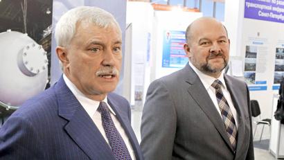 Губернаторы Георгий Полтавченко и Игорь Орлов