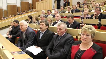 Участники съезда муниципальных образований обсудили актуальные проблемы развития местной власти