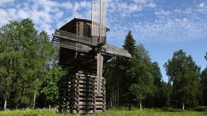 Ветряная мельница в музее «Малые Корелы»