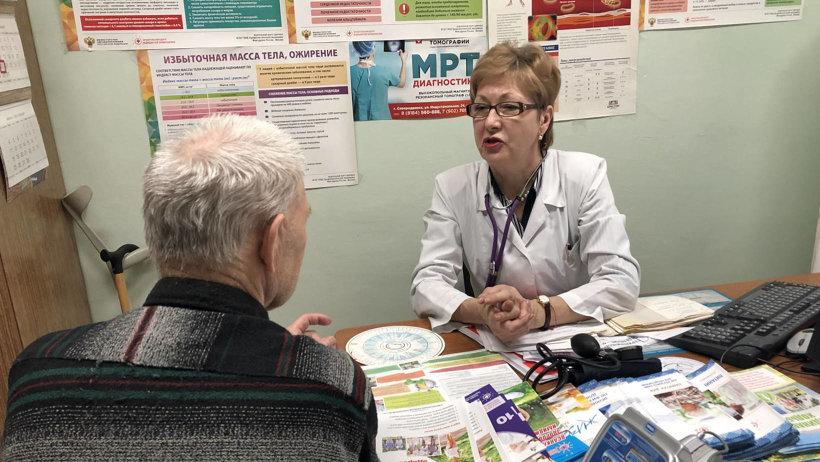 В гериатрическом кабинете принимает врач-гериатр Ольга Сушарина