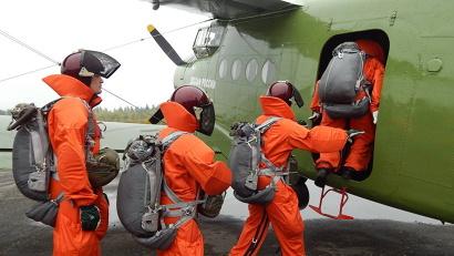 «Лесной спецназ» из Вельского и Красноборского авиаподразделений ЕЛЦ направлен в помощь верхнетоемским пожарным