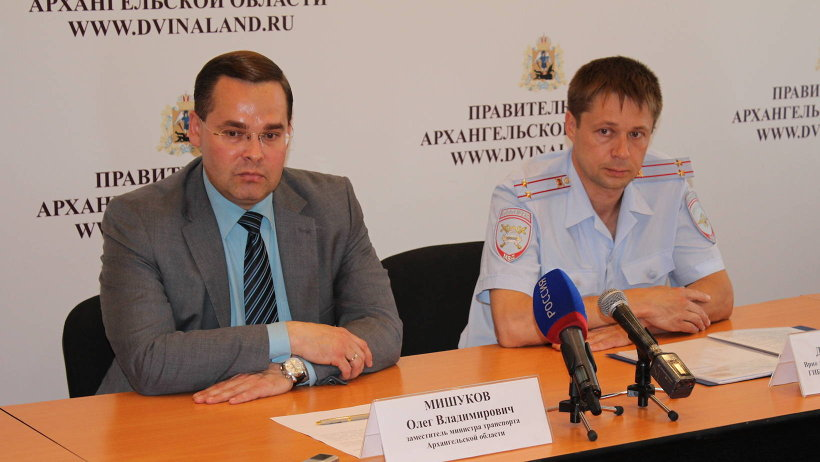 О «европротоколе» рассказали заместитель министра транспорта Олег Мишуков и врио заместителя начальника региональной ГИБДД Дмитрий Фомин
