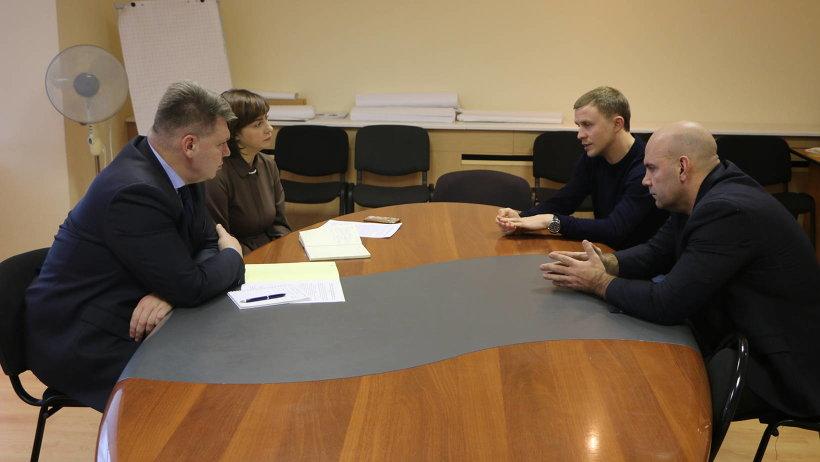 Андрей Багрецов обсудил с коллегами ход подготовки к  V Международному турниру «Кубок Арктики»