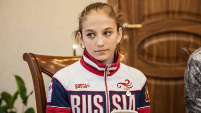 Спортивный путь Валерии Белкиной начался в Архангельске