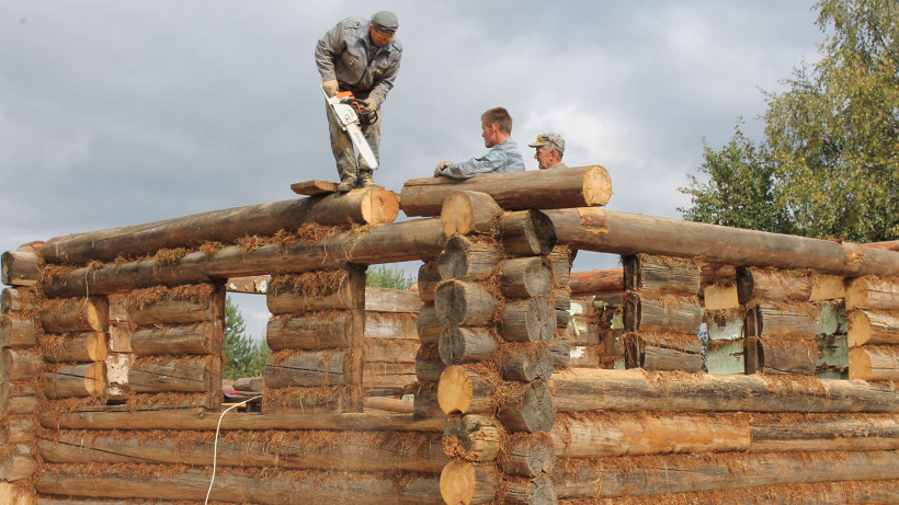 Август: реставрационные работы в Норинской продолжаются