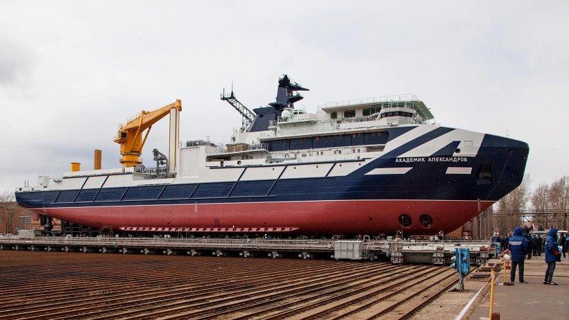 Новейшее судно спроектировано в петербургском ЦМКБ «Алмаз»