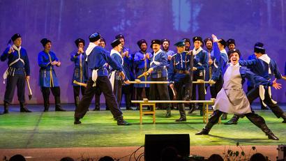В Архангельске казаки исполнят народные плясовые, хороводные, шуточные и лирические композиции