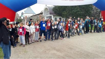 Старт спортивному празднику дал легкоатлетический марафон «Соловецкая верста», который прошёл у стен монастыря