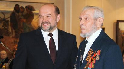Игорь Орлов: «Для меня большая честь вручить ветеранам награды за героическое служение нашему Отечеству»