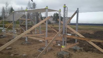 В Котласский район поставка проведена в полном объеме, и здесь уже начались работы по установке оборудования