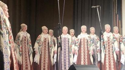 Сербская публика тепло принимала Северный хор