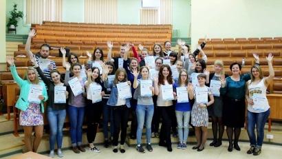 Новоиспеченные волонтёры «ЗдраОтряда»: к практике готовы!