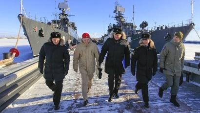 Для участников форума в Северодвинске, на Беломорской военно-морской базе пройдёт «Один день на флоте»