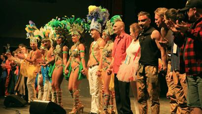 Международный фестиваль уличных театров продлится в Архангельске до 26 июня