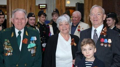 Главными героями торжеств стали ветераны войны, труженики тыла и члены их семей