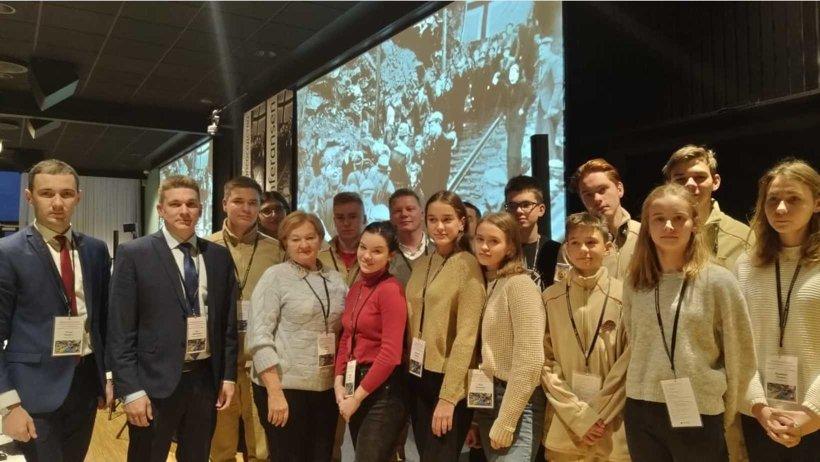 Представители Архангельской области принимают участие в памятных мероприятиях