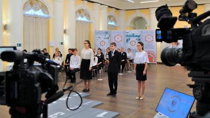 В столице Поморья начались съемки полуфинальных игр гуманитарной олимпиады «Наследники Ломоносова»