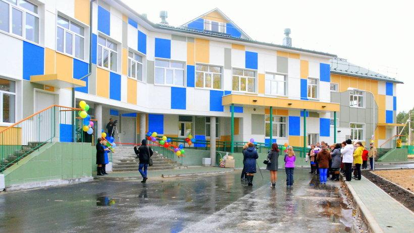 Новый «дом» для дошколят рассчитан на 120 малышей. Фото газеты «Вельские вести»