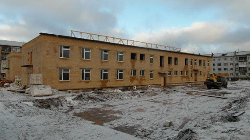 Внутренняя отделка детского сада начнется в 2015 году. Фото газеты «Коношский курьер»