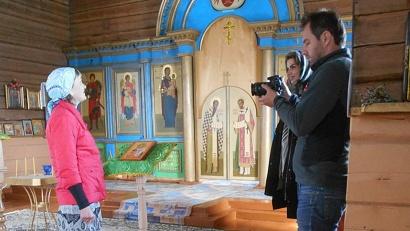 Храм Пророка Илии в деревне Большой бор. Фото: районная газета «Онега»