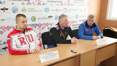 Организаторы соревнований провели пресс-конференцию для журналистов