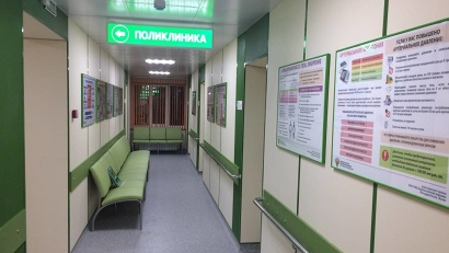 В Устьянской ЦРБ придают большое значение не только функционалу, но и внешнему виду поликлиники
