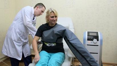Новый аппарат позволяет проводить реабилитацию женщин в послеоперационный период