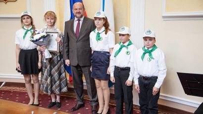 Впервые прошло чествование юных лесоводов – участников школьных лесничеств региона