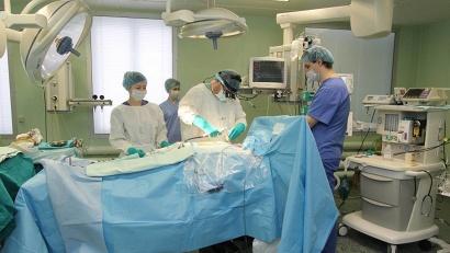 В Первой городской клинической больнице постоянно внедряют высокие медицинские технологии