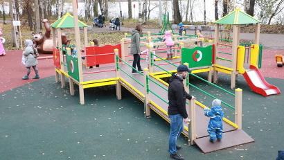 Реконструкция Майского парка в Архангельске также проведена в рамках федерального проекта «Формирование комфортной городской среды». Фото: И. Малыгин