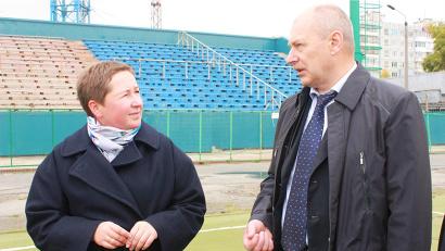 Елена Доценко и Павел Новиков обсудили вопросы развития спорта в Поморье