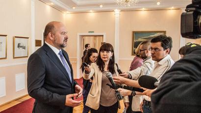 Игорь Орлов выступил с инициативой проведения в Архангельске форума «Арктика – территория диалога»