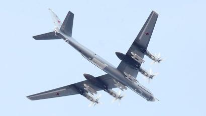 Жители города и гости праздника увидели пролёт самолётов дальней авиации: бомбардировщиков Ту-95 и Ту-22.