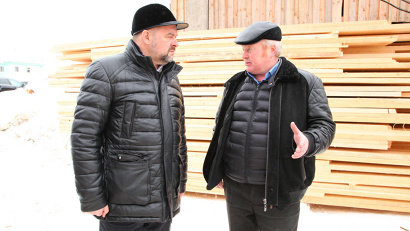 Вся продукция, которая изготавливается на пилораме Николая Кушкова, реализуется в районе