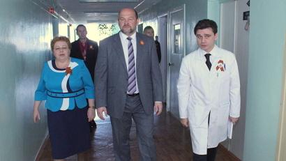 Игорь Орлов проверил условия, в которых ветераны проходят лечение