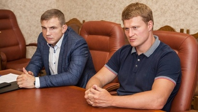 Гордость российского спорта – Александр Поветкин и Андрей Семёнов