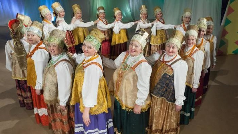 Театр фольклора «Радеюшка». Фото из архива Дома народного творчества