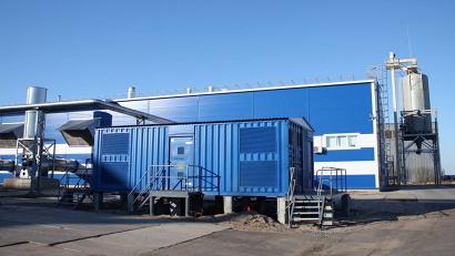 Гранульный цех с современным оборудованием рассчитан на выработку 60 тысяч тонн пеллет