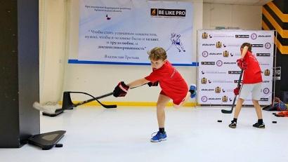 Тренажеры в хоккейном центре «Be Like Pro» позволяют заниматься круглый год